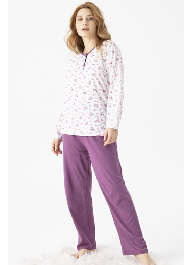 Pemilo Pijama Takım Mor